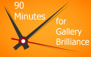 art gallery business time management