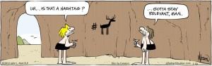Hashtag comic