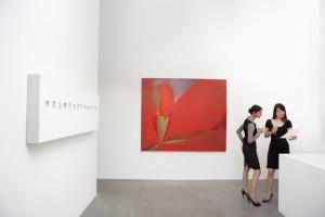 Selling fine art in the gallery