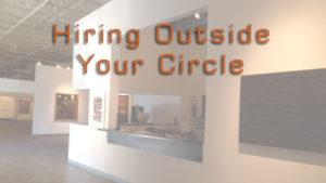Hiring art gallery staff