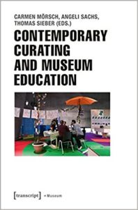 Curating art for education