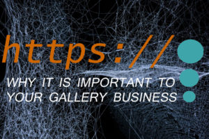 web security and your gallery business