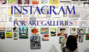 Instagram for art galleries