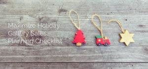 Art Gallery Holiday Planning Checklist