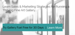 Learn sales and marketing strategies for fine art galleries
