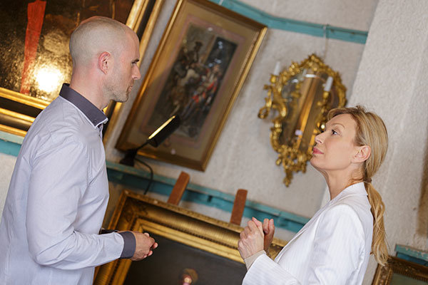 Presenting art to collectors