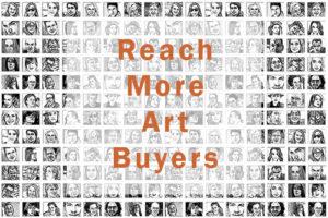Reach more art buyers