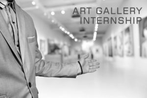 Creating an art gallery internship program