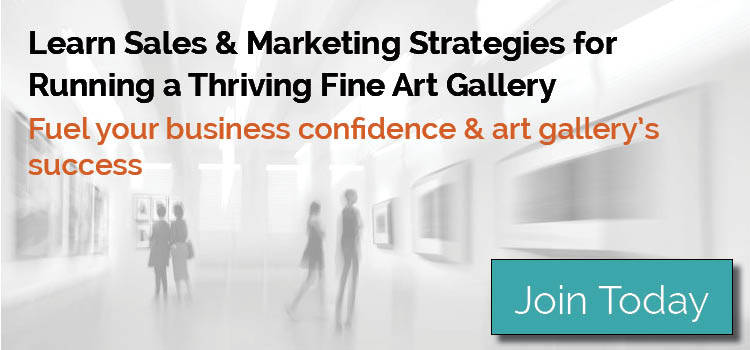 Running an art gallery business