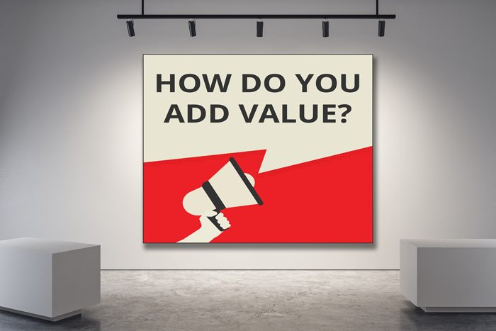 sales strategy for an art gallery