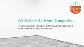 Art Gallery Software Buying Guide and Comparison (Members-Only)