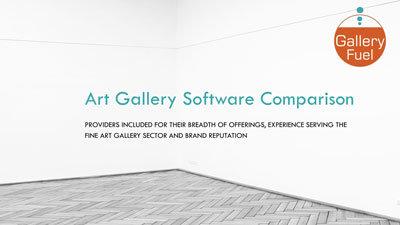 Art Gallery Software Comparison