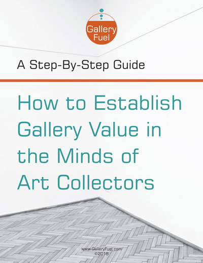 creating an art gallery value proposition