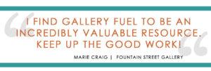 Gallery Fuel Testimonial