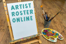 Formating your art gallery artist roster webpage