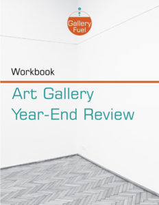 art gallery year-end review process workbook