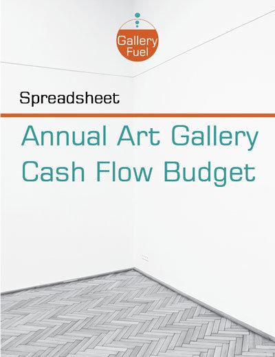 Art Gallery Cash-Flow-Budget-Spreadsheet