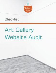 Auditing an art gallery website