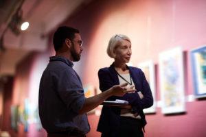 art gallery partnership