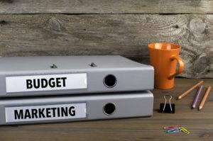 art gallery marketing budget