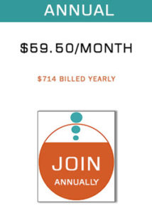 Annual gallery fuel membership botton